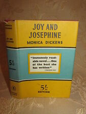 Vintage Collectable Book Of Joy And Josephine, By Monica Dickens - 1951