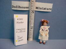 Dollhouse Miniature Ethel Hicks Doll - Heather #2001 Limited edition 18 of 150