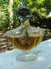 VTG SHALIMAR Pure PARFUM 1 Oz Guerlain #'d Baccarat Bottle Sealed OLD FORMULA