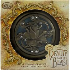 Disney Beauty and the Beast Glass Compact Mirror Live Action Film Movie