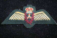 CANADIAN CANADA AIR FORCE ENGINEER ? WING ON GREEN FELT QC