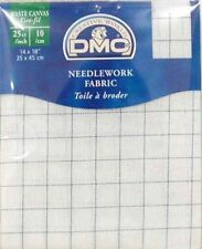 "DMC WASTE CANVAS 25ct 14""x18"" 35cms x 45cms  DC 77 FREE UK POSTAGE AND PACKING"