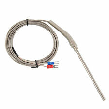 Professional 1pcs 3M Thermocouple K type 100mm Probe Sensor High Temperature