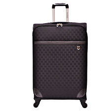 "Beverly Hills Country Club Frankfort 31"" Woven Jacquard Spinner Luggage Suitcase"