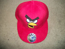 Angry Birds Red Bird fuzzy hat  Baseball Mens Hat beer  New adjustable