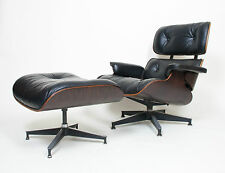 Vintage 1971 Herman Miller Eames Lounge Chair & Ottoman Rosewood 670 671