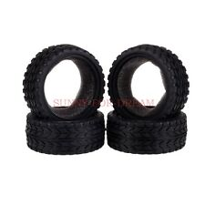 4x RC 1/10TH On Road Racing Flat Run Sponge Rubber Tyres,Tires Fit HSP HPI 6017