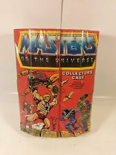 VINTAGE MASTERS OF THE UNIVERSE ACTION FIGURE COLLECTORS CARRYING CASE 1984 MOTU