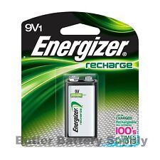 1 Energizer 9V (9 Volt) Rechargeable NiMH Battery (175 mAh, NH22NBP, 8.4V)