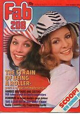 Fab 208 Magazine 13 March 1976      Donny & Marie Osmond      Bay City Rollers