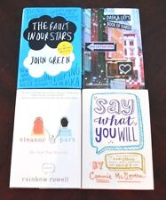 Lot 4 HB YA/Teen Fault In Our Stars Eleanor & Park Dash & Lily Say What You Will