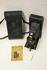 Eastman Kodak 2C Pocket camera with case