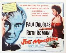 JOE MACBETH Movie POSTER 22x28 Half Sheet Paul Douglas Ruth Roman Bonar Colleano