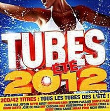 Tubes Été 2012 by Various Artists (CD, Aug-2012, 2 Discs, WEA)