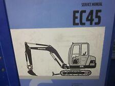 Volvo EC45 Mini Excavator Service Manual