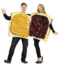 Peanut Butter & Jelly Couple Costume