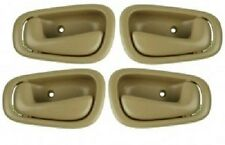 Inside Door Handle Tan 4pc for Toyota Corolla 1998-2002 Interior Auto Car Parts