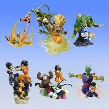 Bandai HG Dragon Ball Z Imagination Figure Part 9 Gashapon 6 pcs Goku DBZ Super