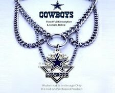 DALLAS COWBOYS CHOKER NECKLACE NFL JEWELRY - WHAT A COWGIRL WANTS  FREE SHIP #A*
