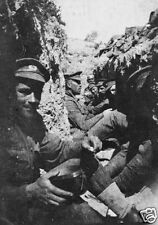 "Allied Soldiers Troops Infantry in a Trench Gallipoli World War 1, 6x4"" Photo 1"