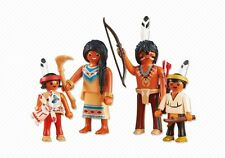 34226 Familia india 4u playmobil,western,indian,warrior,guerrero,6322
