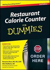 Restaurant Calorie Counter For Dummies (For Dummies (Health &-ExLibrary
