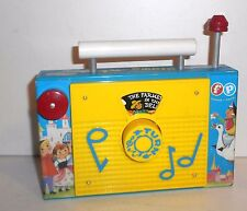 "1963-66 Vintage Fisher Price Juego Juguetes ~ #166 ""granjero en Dell"" TV/radio"