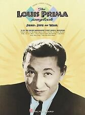 Artist Songbooks: The Louis Prima Songbook Sheet Music Song Book