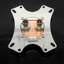 Universal Water Cooling CPU Block 50*50mm Copper Base  For AMD Intel USA Seller