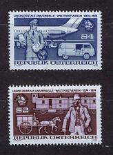 AUSTRIA 1974  MNH SC.1004/1005 UPU