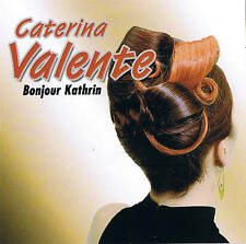 "CATERINA VALENTE ""Bonjour Kathrin"" 78rpm time CD NEU & OVP 20 Tracks Album"