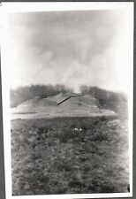 VINTAGE 1925-35 MILITARY NAVY TURRET CANNONS HONG KONG SHANGHAI CHINA OLD PHOTO