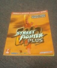 Street Fighter EX2 Plus Strategy Players Guide Book Playstation Ps1