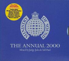 MINISTRY = the annual 2000 = mixed by Judge Jules & Tall Paul =2CD=groovesDELUXE