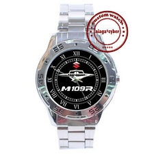 NEW Suzuki Boulevard M 109 R CUSTOM CHROME MEN WRIST WATCH