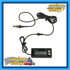Go Kart Digital Water Temperature Gauge Engine H2O Temp Unit 0-150 C Rotax X30