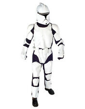 "Star Wars Mens Clone Trooper Costume S2, Std,CHEST 44"",WAIST 30-34"",INSEAM 33"""