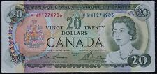 BANK OF CANADA - 1969 $20 Replacement Note Prefix *WN - Signed Lawson & Bouey