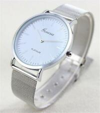 Geneva Fashion Women's Watch Stainless Steel Band Analog Quartz Wrist Watches