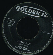 """45T 7"""": Casey Jones and the Governors: little girl. golden 12. A4"""