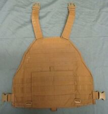 EAGLE INDUSTRIES SCALABLE PLATE CARRIER MBAV FRONT WITH KEVLAR PANEL. COYOTE. L.