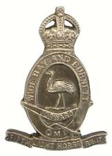 WW1 FIFTH AUSTRALIAN LIGHT HORSE REG BADGE SOLID SILVER