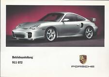PORSCHE   911  GT2    2002  Typ 996  Bedienungsanleitung   Betriebsanleitung  BA