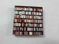 """Dollhouse Miniature 1/4"""" Scale 1:48  Book Shelf  Made of  Plywood #Z297N"""