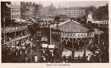 Goose Fair Nottingham Fairground RP old pc used 1913 Peveril