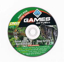 ★ PC Computer Spiel - DINO CRISIS 2 + REISE NACH NORDLAND - GamesAktuell 06/06 ★
