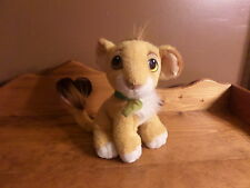 HTF Authentic Original 1993 Mattel Lion King Plush NALA w/ green Leaf 10""