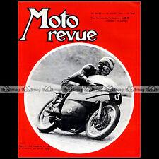 MOTO REVUE N°1748 CLAUDE VIGREUX TOURIST TROPHY TT PHIL READ AGOSTINI VESPA 1965