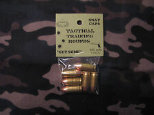 380 AUTO TACTICAL TRAINING ROUNDS,  SET OF 6 SNAP CAPS
