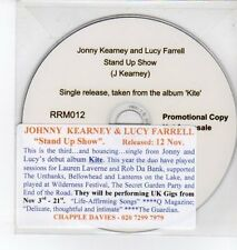 (DQ357) Johnny Kearney & Lucy Farrell, Stand Up Show - 2012 DJ CD